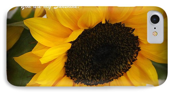 You Are My Sunshine - Greeting Card IPhone Case