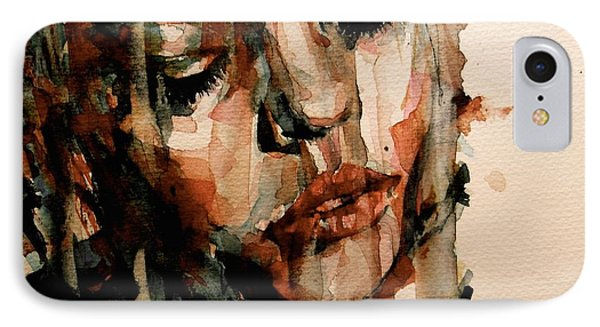 You Ditch It All To Stay Alive A Thousand Kisses Deep IPhone Case by Paul Lovering