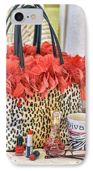 You Might Be A Diva... IPhone Case by Kenny Francis