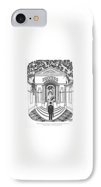 You Realize IPhone Case by Joseph Farris