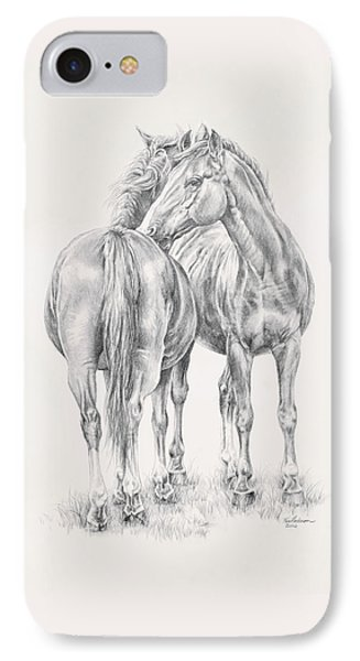 You Scratch My Back I'll Scratch Yours IPhone Case by Kim Lockman