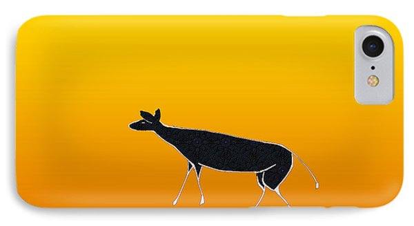 Young Antelope IPhone Case by Asok Mukhopadhyay