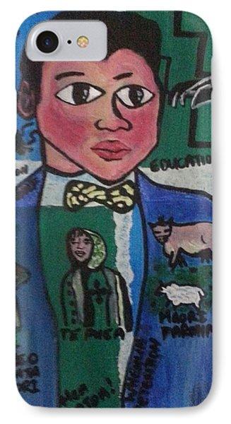 Young Apirana Ngata Phone Case by Hori Kiwara