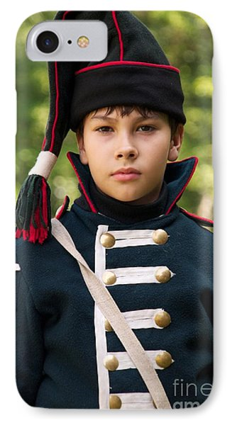 Young Arilleryman IPhone Case by Aleksey Tugolukov