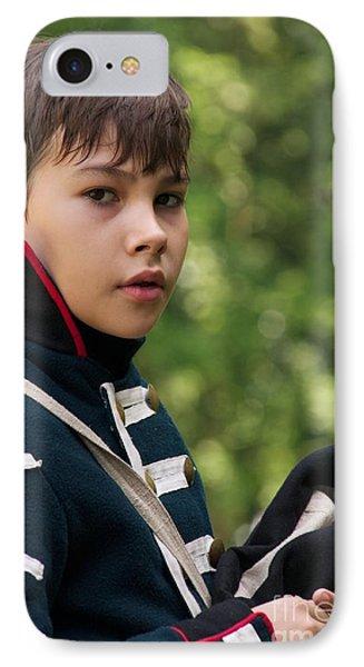 Young Artilleryman IPhone Case by Aleksey Tugolukov