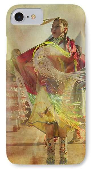 Young Canadian Aboriginal Dancer IPhone Case