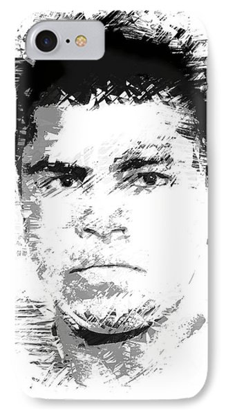 Young Cassius Clay Phone Case by Daniel Hagerman