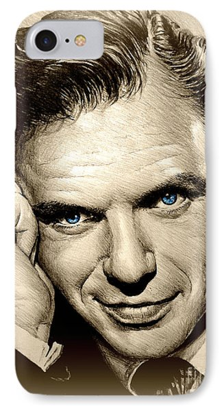 Young Frank Blue Eyes IPhone Case