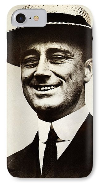 Young Franklin  Roosevelt Phone Case by Bill Cannon