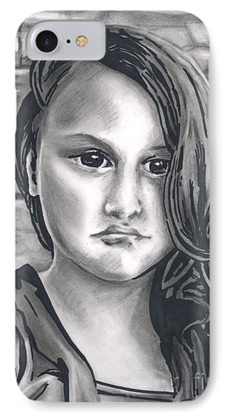 Young Girl- Shan Peck Contest IPhone Case