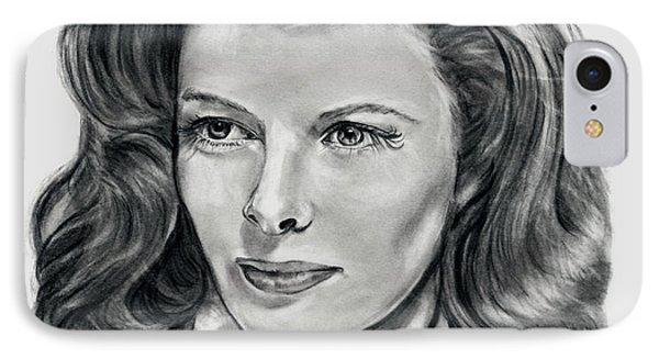 Young Katherine Hepburn IPhone Case