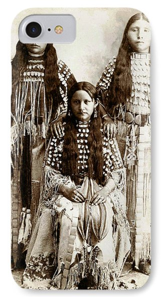 Young Kiowa Belles 1898 Phone Case by Unknown
