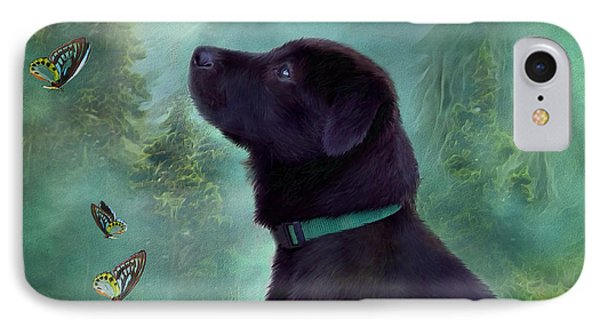 Young Lab And Buttys Phone Case by Carol Cavalaris