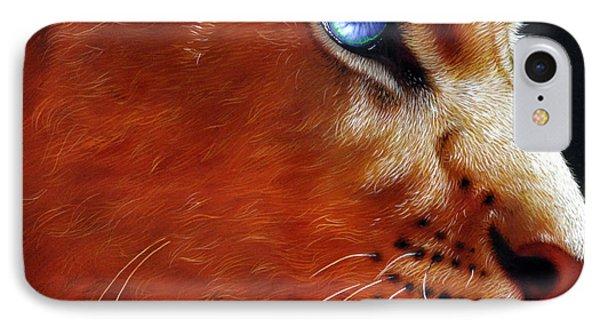 Young Lion IPhone Case by Jurek Zamoyski