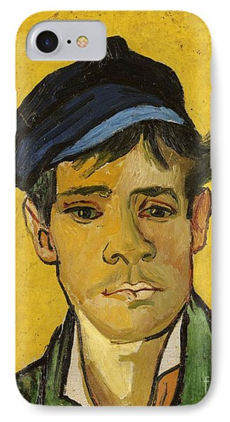 Young Man With A Hat Phone Case by Vincent Van Gogh