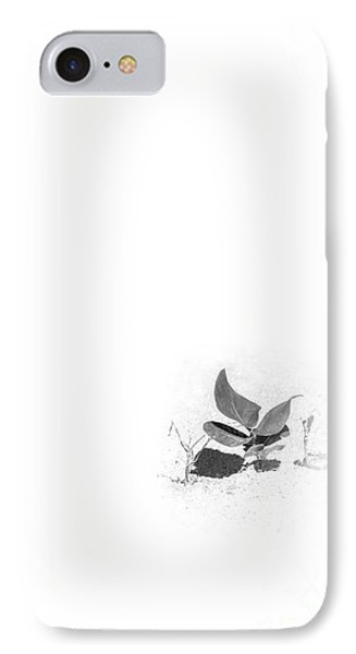 Young Sea Grape Bw IPhone Case