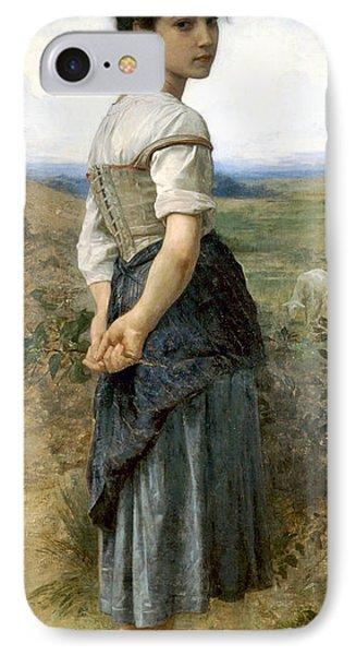 Young Shepherdess IPhone Case