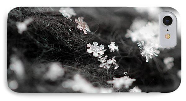 IPhone Case featuring the photograph Young Snowflake by Stacey Zimmerman