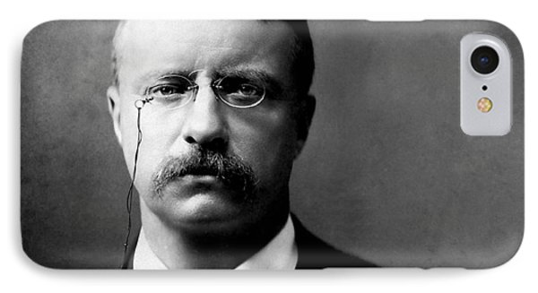Young Theodore Roosevelt Phone Case by Bill Cannon