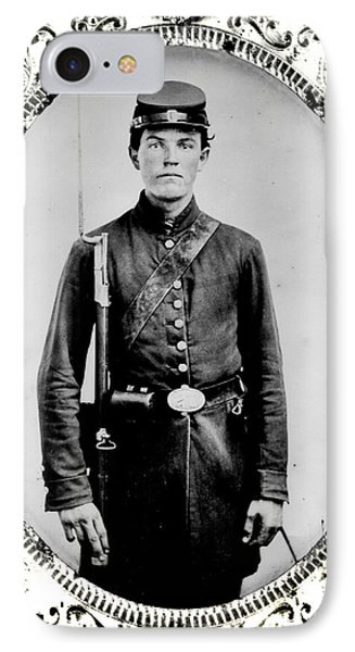 Young Union Soldier Phone Case by American School
