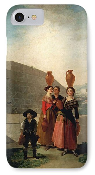 Young Women With Pitchers IPhone Case by Francisco Goya