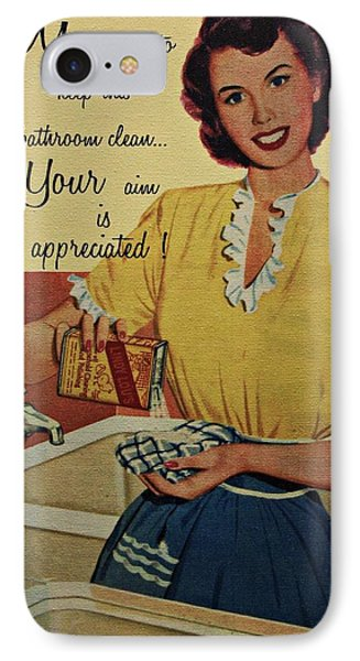 Your Aim Is Appreciated Phone Case by Movie Poster Prints