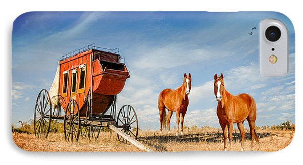 IPhone Case featuring the photograph Your Ride Awaits by Mary Timman