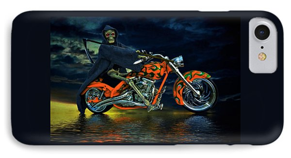 Your Ride Awaits Phone Case by Steven Agius