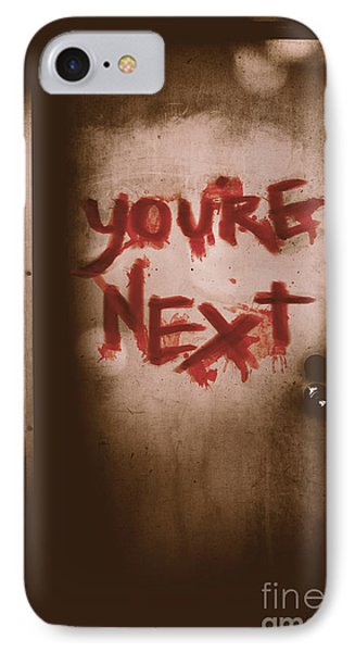 You're Next IPhone Case by Jorgo Photography - Wall Art Gallery