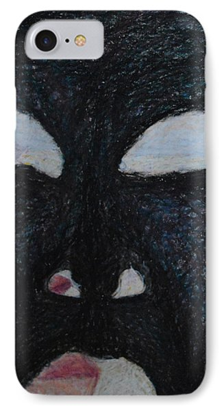 You're Standing In My Eye Phone Case by Nancy Mauerman
