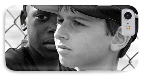 Youth Baseball 3 IPhone Case by David Gilbert