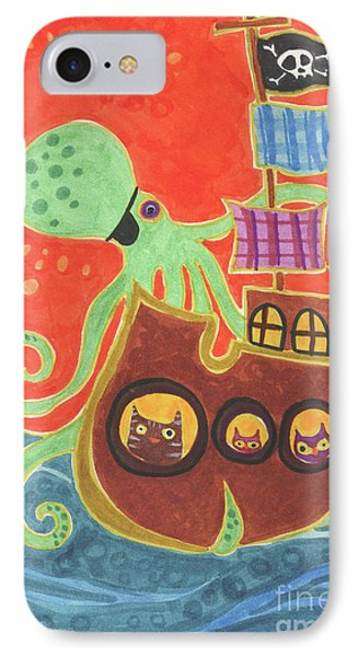 You've Been Pirated Phone Case by Kate Cosgrove