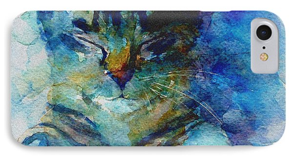 Cat iPhone 7 Case - You've Got A Friend by Paul Lovering
