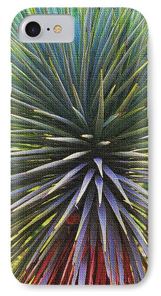 Yucca At The Arboretum IPhone Case by Tom Janca
