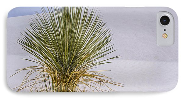 Yucca At White Sands IPhone Case by Jean Noren