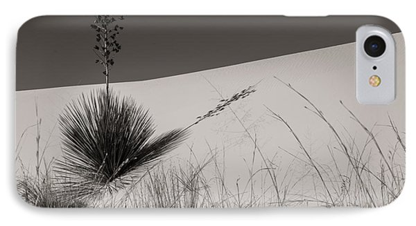 IPhone Case featuring the photograph Yucca In The Sand I by Sherry Davis