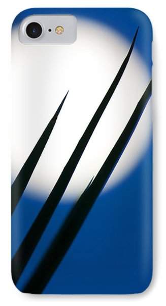 IPhone Case featuring the photograph Yucca Moon by Jim Garrison