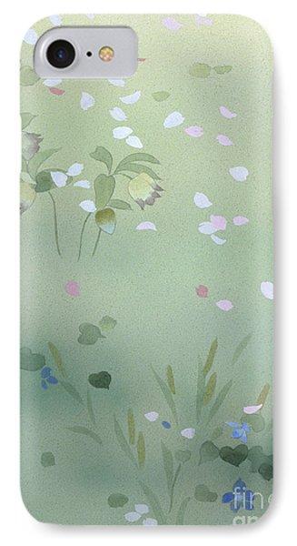 Yumezakura Crop IPhone Case by Haruyo Morita