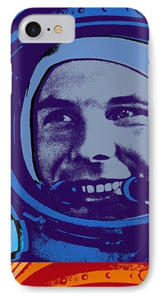 Yuri Gagarin  IPhone Case by Jean luc Comperat