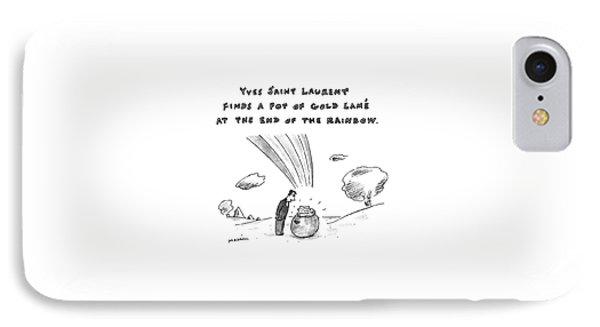 Yves Saint Laurent Finds Pot Of Gold Lame IPhone Case