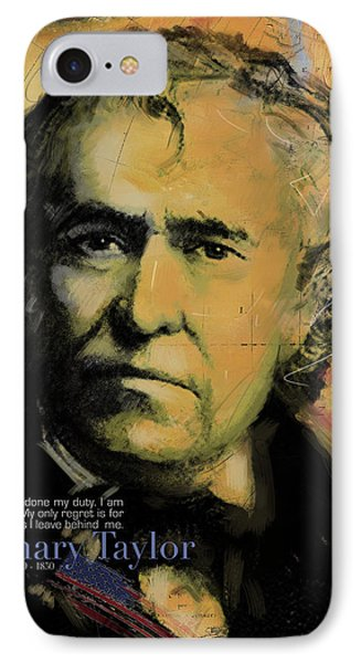 Zachary Taylor IPhone Case