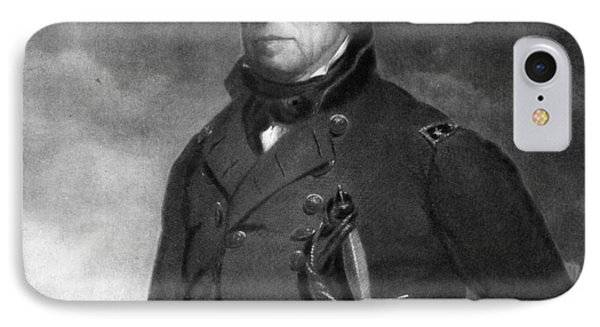 Zachary Taylor IPhone Case by Eliphalet Frazer Andrews