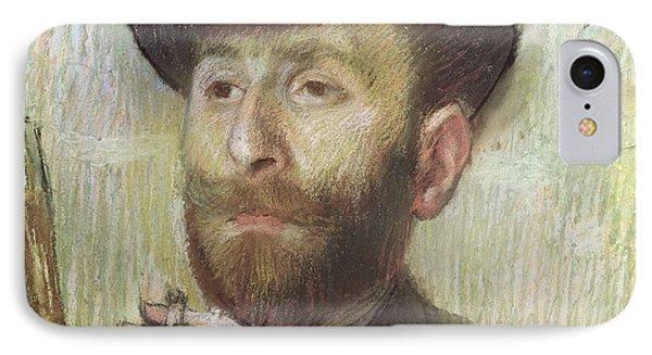 Zachary Zakarian IPhone Case by Edgar Degas