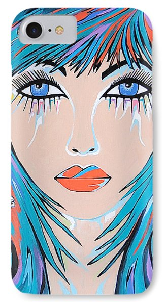 IPhone Case featuring the painting Zahara by Kathleen Sartoris