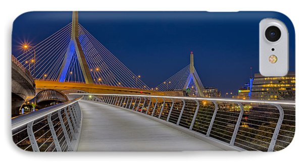 Zakim Bridge IPhone Case by Susan Candelario