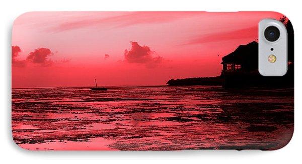 Zanzibar Sunrise Phone Case by Aidan Moran