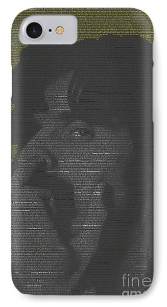 Zappa Mosaic IPhone Case by James Johnson