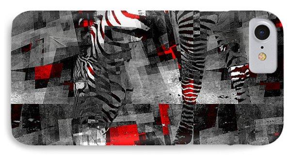 Zebra Art - 56a IPhone Case