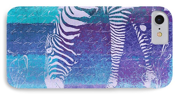 Zebra Art - Bp02t01 IPhone Case
