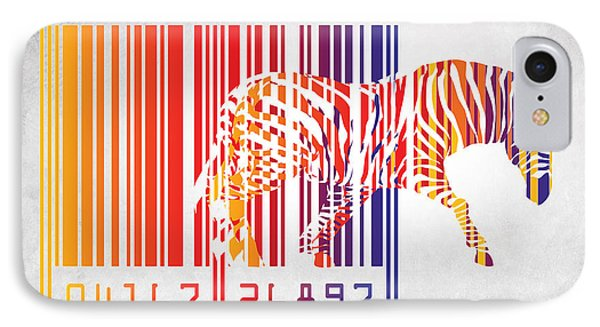 Zebra Barcode IPhone Case